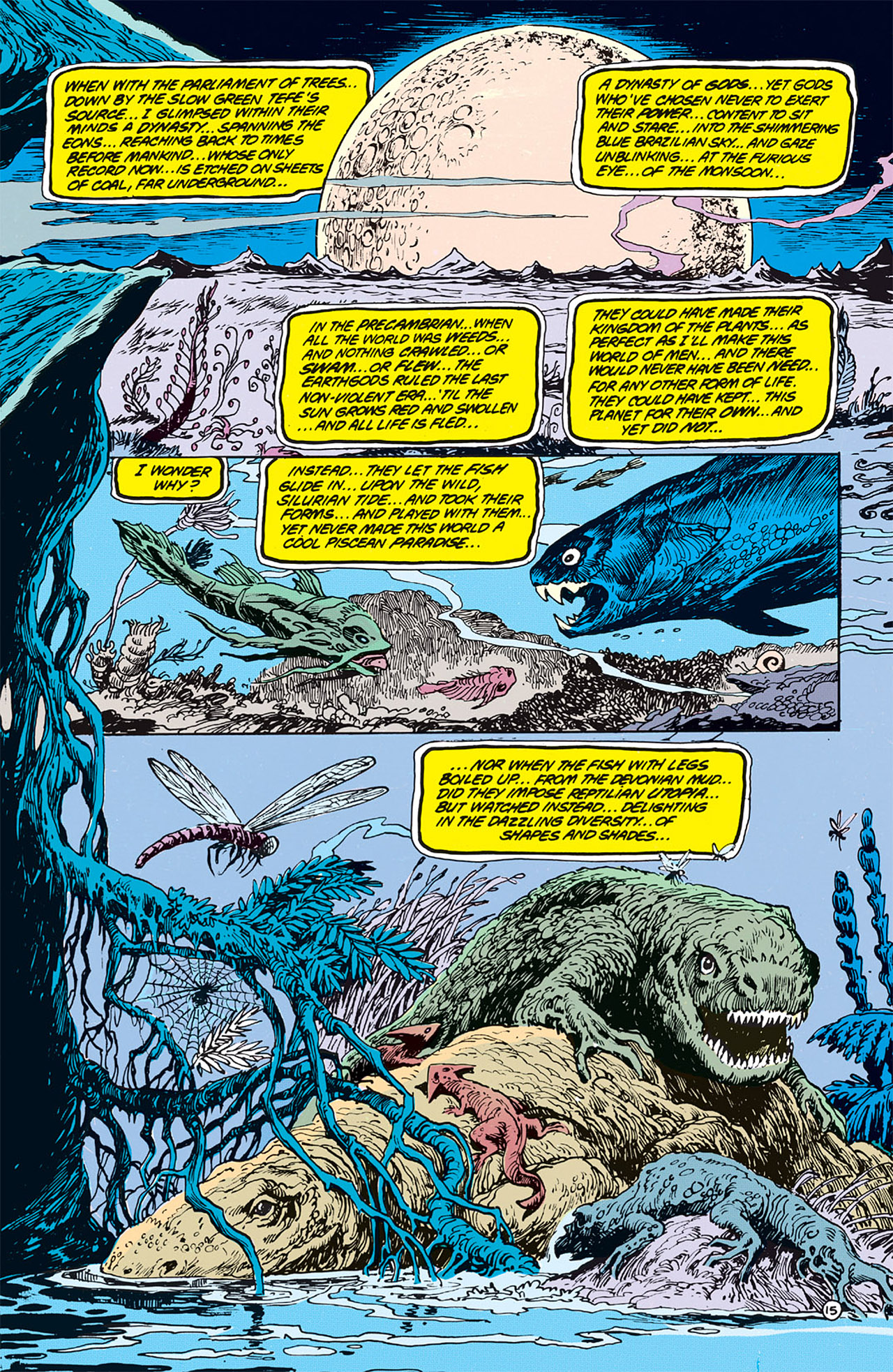 Swamp Thing (1982) Issue #64 #72 - English 16