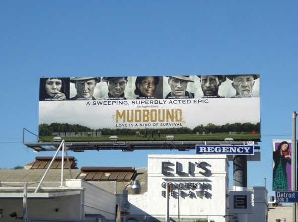 Mudbound superbly acted epic FYC billboard