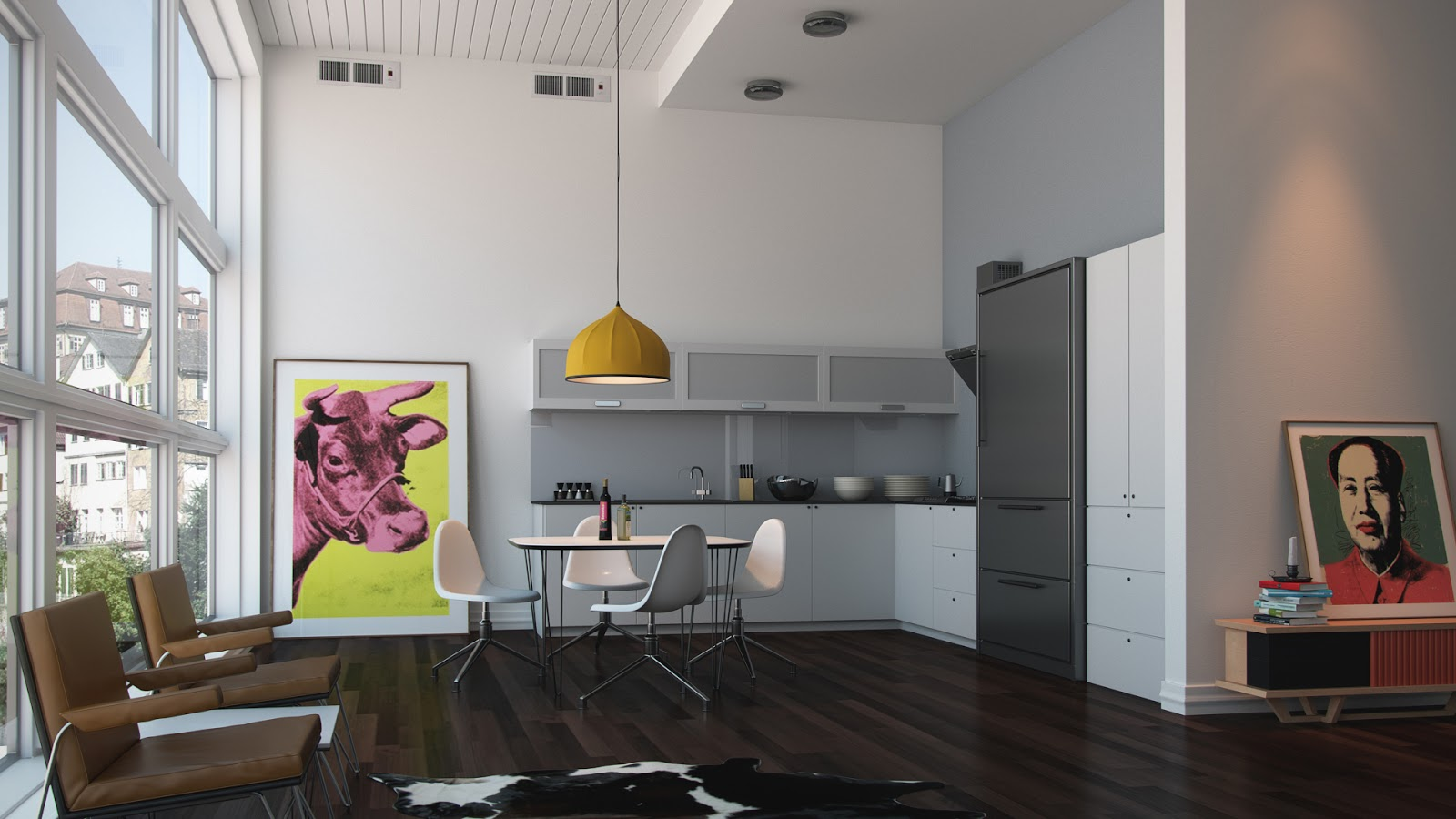 Download free 3Ds Max and Vray Interior Scene | Computer