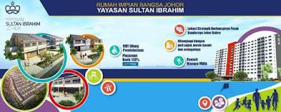 Permohonan Rumah Impian Mampu Milik Yayasan Sultan Ibrahim 2017 Online