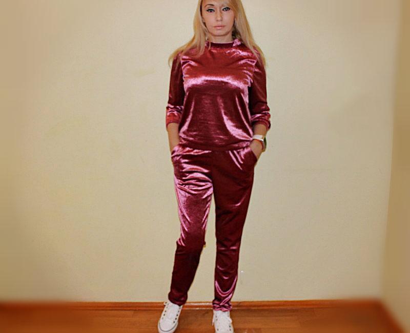 Shopping in Zaful: Спортивный костюм из бархата. Тренды 2017 / обзор, отзывы