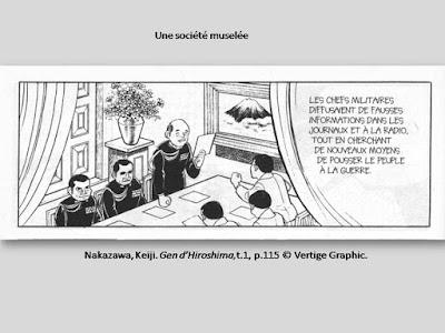 Nakazawa, Keiji. Gen d'Hiroshima, t.1, p.115. © Vertige Graphic.