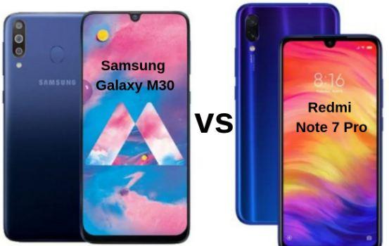 Redmi Note 7 Pro vs Galaxy M30