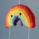 patron gratis arcoiris amigurumi
