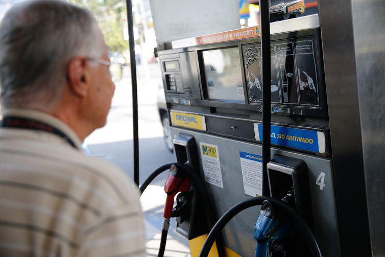 O grupo de trabalho vai discutir o amortecimento dos preços dos combustíveis (Fernando Frazão/Arquivo/Agência Brasil)