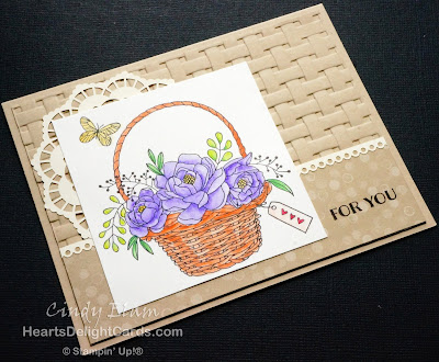 Heart's Delight Cards, Blossoming Basket Bundle, Blogiversary, Blog candy, Stampin' Up!