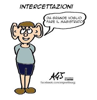 intecettazioni, guidi, vignetta, satira