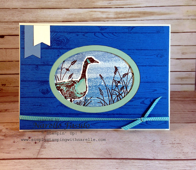 Wetlands - Narelle Fasulo - Simply Stamping with Narelle