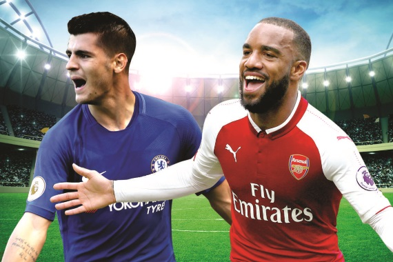 Chelsea welcome Arsenal to Stamford Bridge on Sunday
