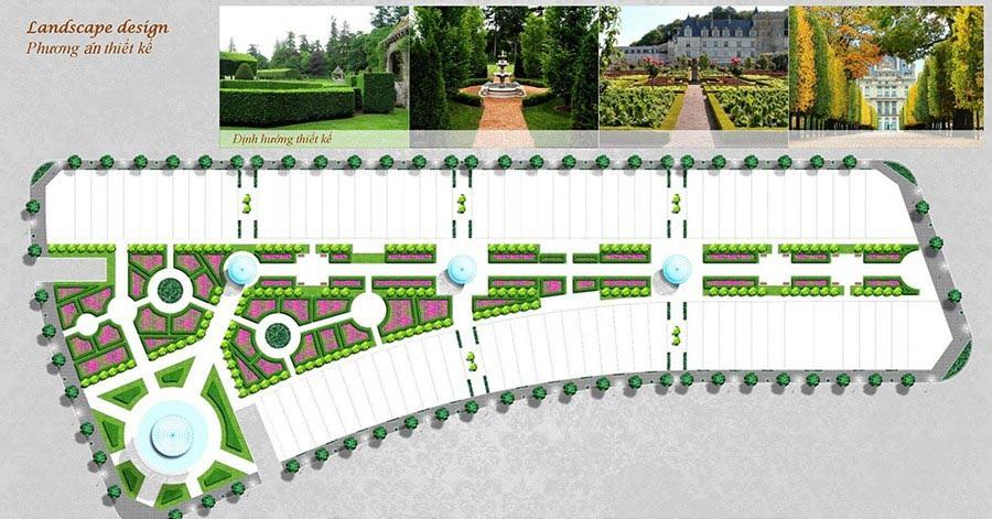 Phương án thiết kế của dự án Louis City.