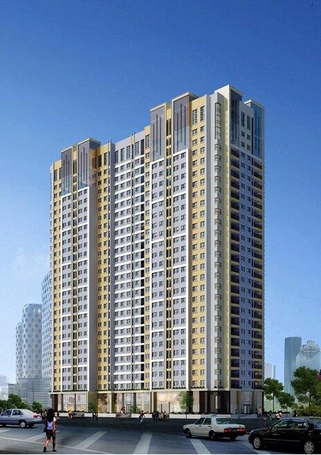 Phối cảnh dự án căn hộ chung cư Ecodream City.