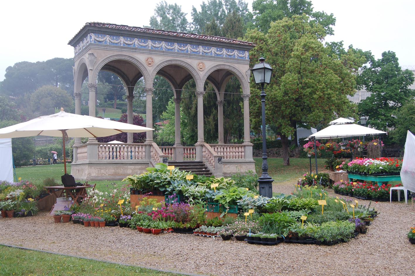 Immagini Piante E Fiori tourism in tuscany: mostra di piante e fiori al giardino