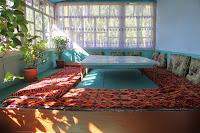 Kyrgyzstan, Arslanbob, at Sobirjon home, topchan, © L. Gigout, 2012