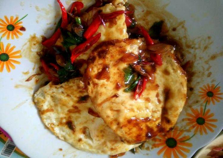 Resep Telur Ceplok Pedas Manis (cookpad.com)