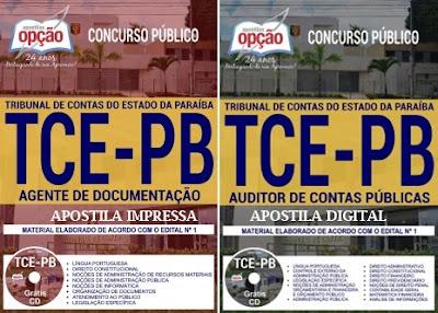 Apostila Concurso TCE-PB  Agente de Documentação 2018