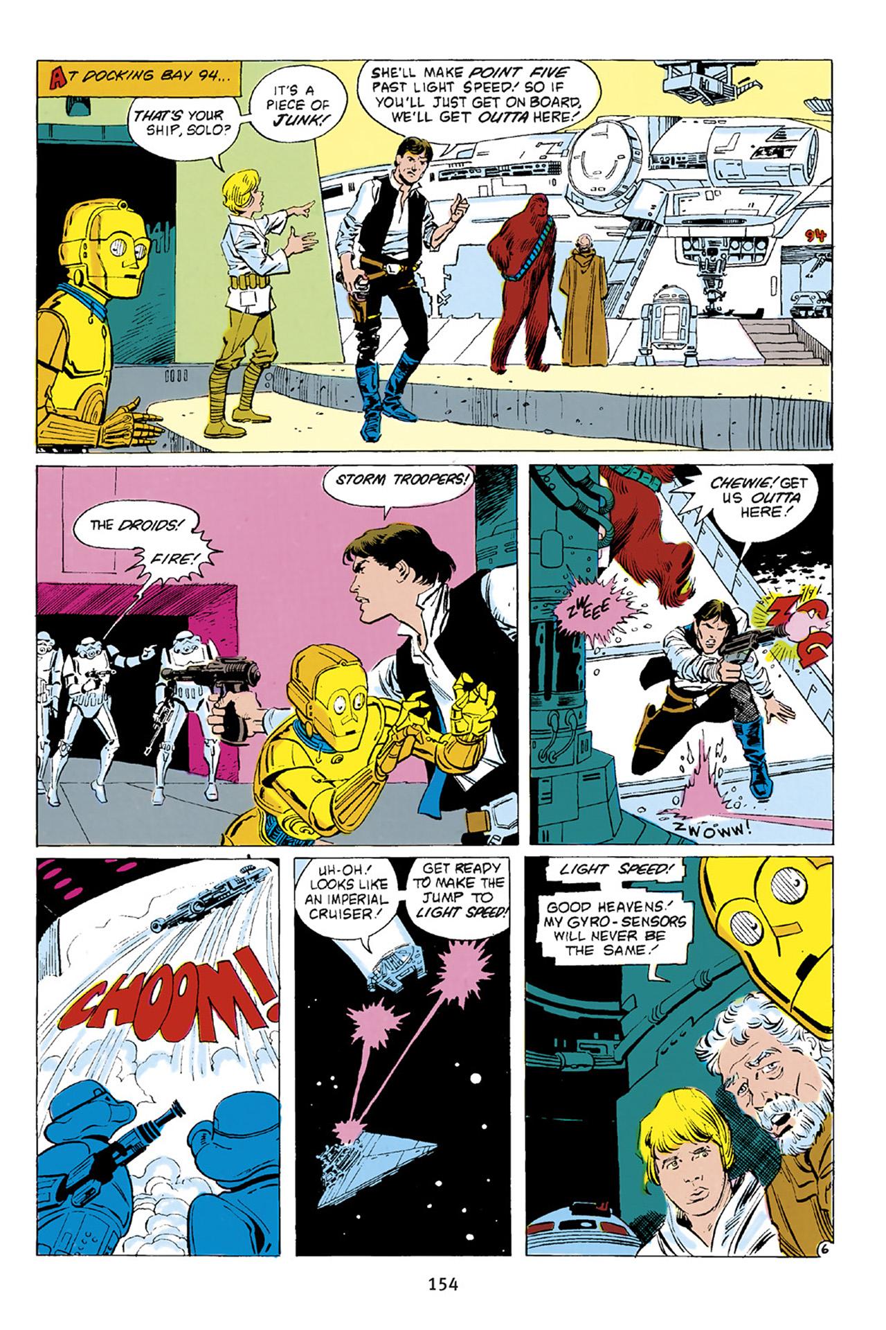 Read online Star Wars Omnibus comic -  Issue # Vol. 23 - 153
