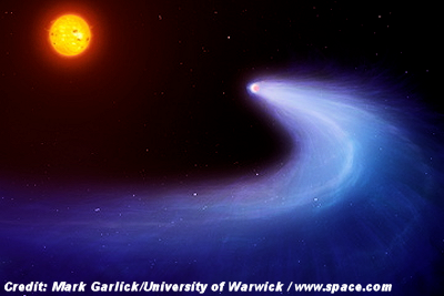 Bizarre Comet-like Alien Planet Found