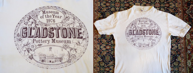 Gladstone Pottery Museum Story - Museum of the Year 1976 T-shirt