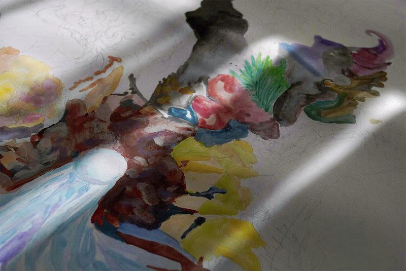 Work in Progress Update: Kostas Gogas' Crystal Artwork