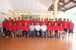 Wagub Lantik Pengcab Pelti Manado Masa Bhakti 2018-2023
