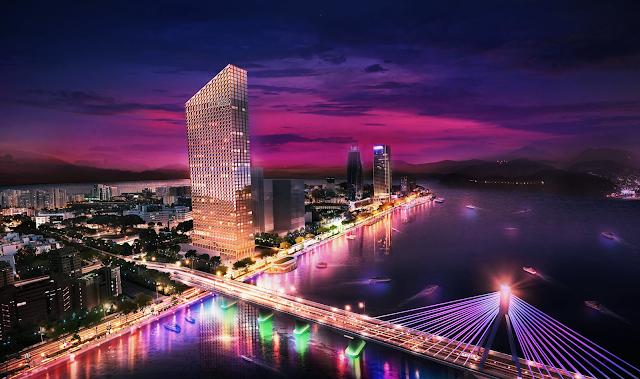 Phổi cảnh tổng thể dự án Land Mark Sông Hàn