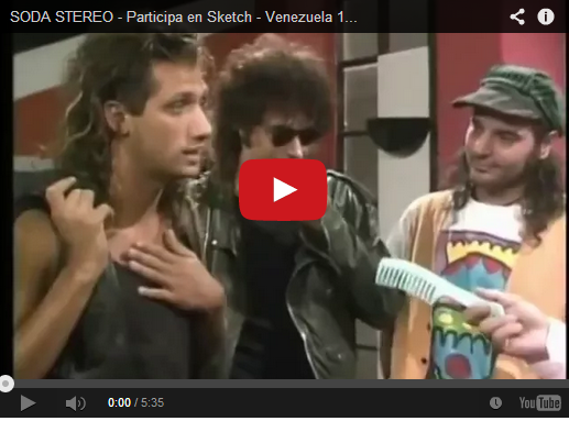 Gustavo Cerati y Soda Stereo en la Radio Rochela