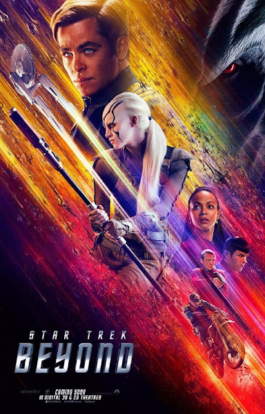 Poster Of Star Trek Beyond 2016 720p English BRRip Full Movie Download