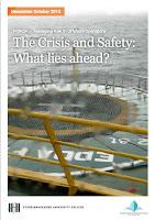 Last ned pdf av nyhetsbrev Managing Risk in Offshore Operations