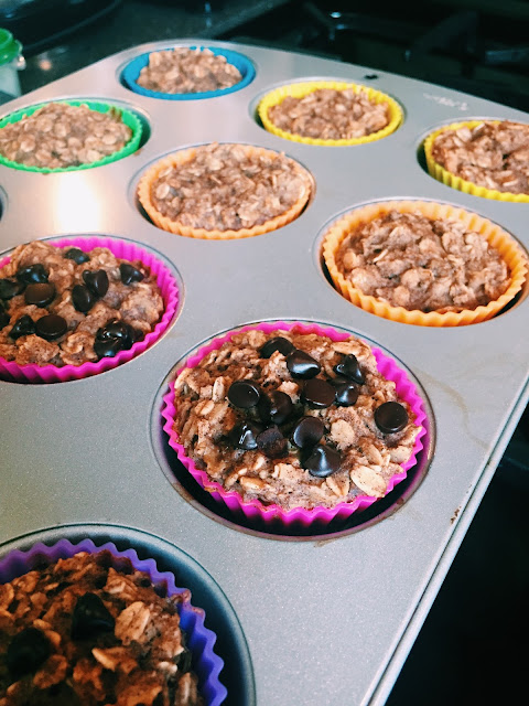 Be You, Be Healthy: 21 Day Fix Baked Oat Muffins