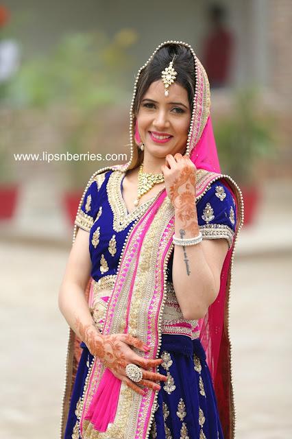 Blue theme indian wedding