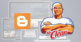 افضل قالب تنظيف لمدونات بلوجر Cleaning Template