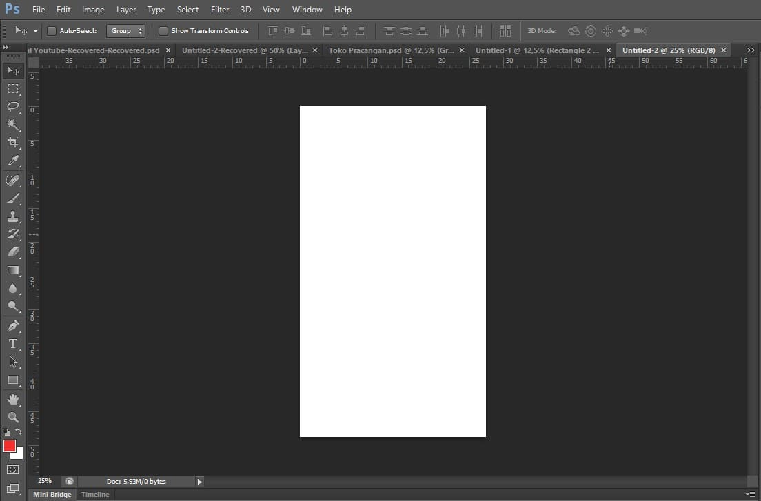 Layout Photoshop