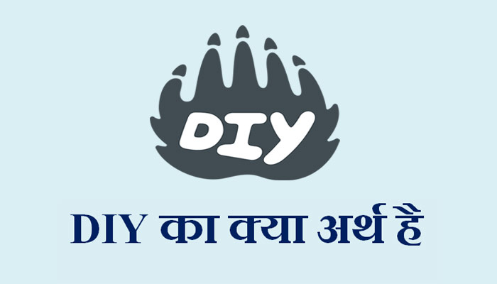 DIY full form & meaning in Hindi - DIY का क्या मतलब है?