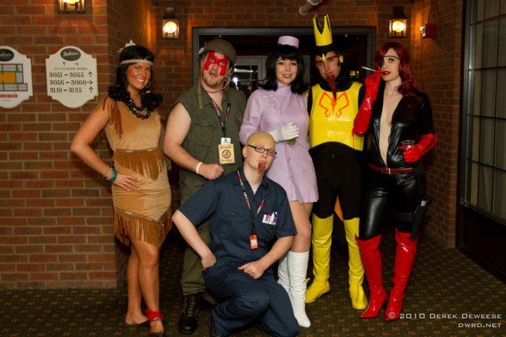 via Venture Bros. Cosplay Facebook Group  sc 1 st  Forces of Geek & TV News: THE VENTURE BROS. Get Dressed Up For Their First Halloween ...