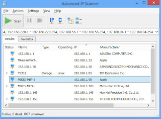 Download Advanced IP Scanner 2017