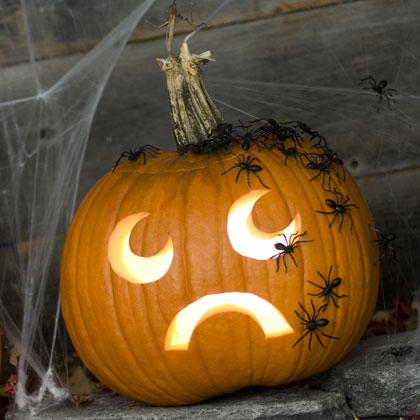 Фенер от тиква за Хелоуин