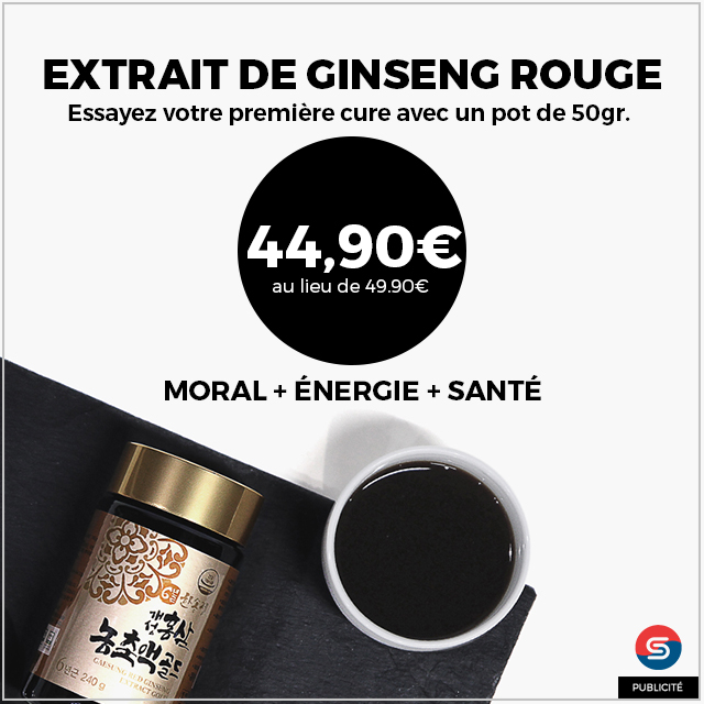 Extrait Ginseng Rouge