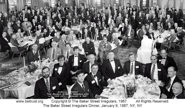 The 1987 BSI Dinner group photo