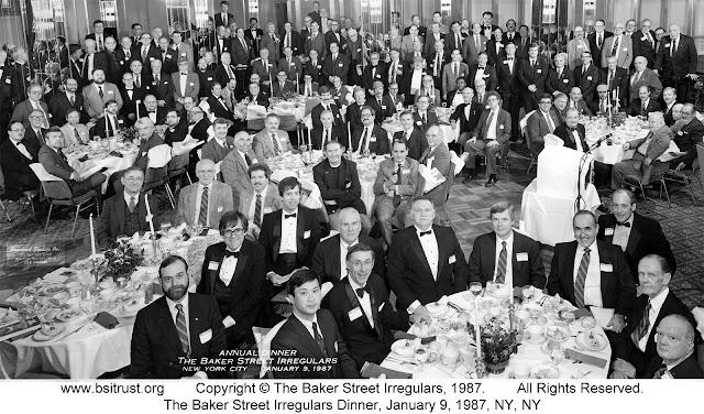 The 1987 BSI Dinner group photo