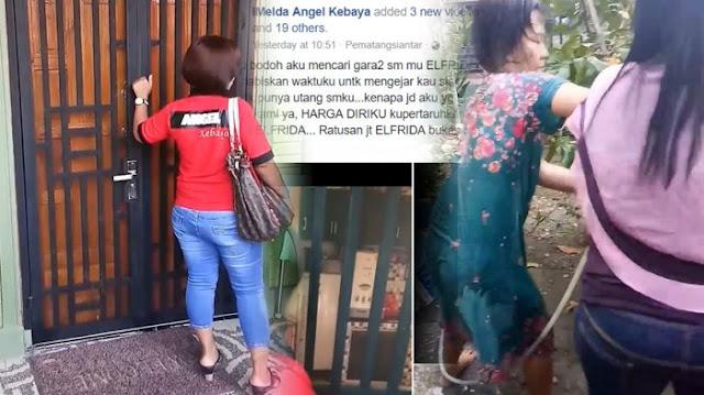 Anggota Persit Gerebek Wanita yang Disebut tak Bayar Arisan Ratusan Juta dan Sebar Fitnah di FB