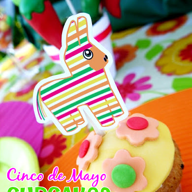 DIY Pinata Dulce de Leche Fiesta Cupcakes