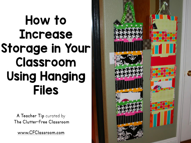 Do you need more storage space in your classroom? This DIY project for teachers will show you how to create hanging files to organize your paper.