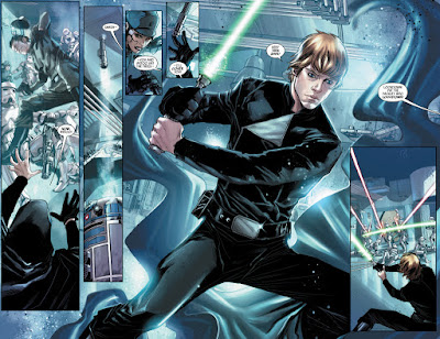 Luke Skywalker en Shattered Empire