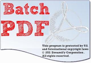 Batch PDF Pro 2.5.0 (x64) Full Version