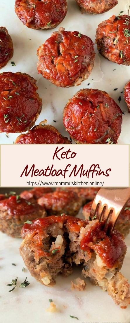 Keto Meatloaf Muffins #dinnerrecipe #food