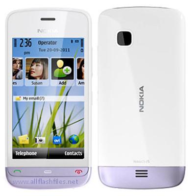 Nokia C5-05 (RM-815) Latest Flash File/Firmware (MCU+PPM+CNT