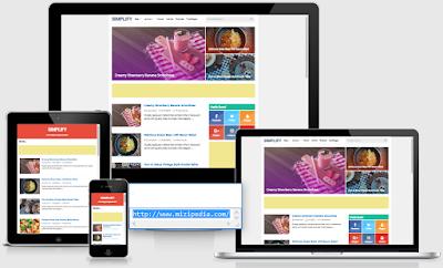 Template Premium V4.1 Simplify Responsive Blogger
