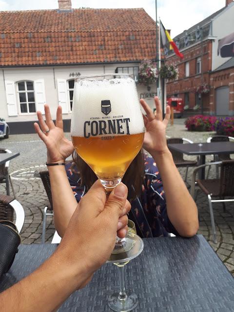 Cornet Beer in Wieze Belgium