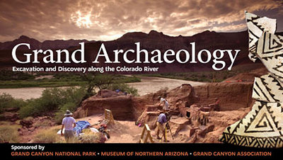 Grand Archaeology Exhibit on Excavation Project along the Colorado River open at Kolb Studio