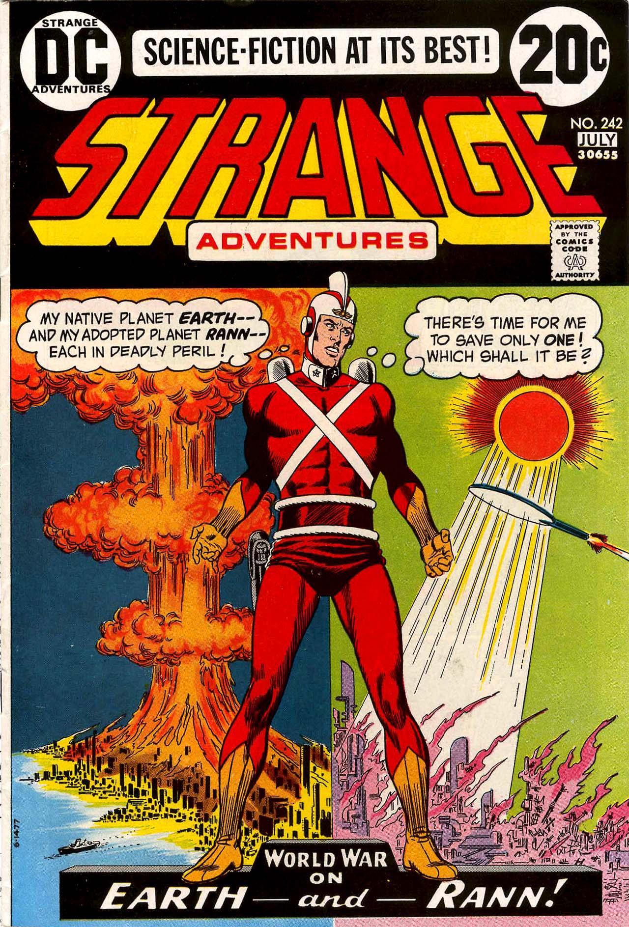 Strange Adventures (1950) issue 242 - Page 1
